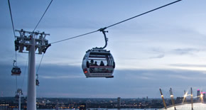 Getting to The O2 by Emirates Air Line