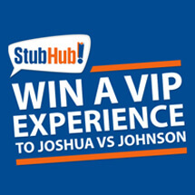 Win a VIP boxing tickets