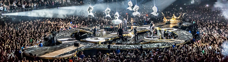 The O2 Area Take That HEADER